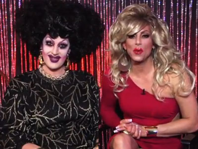 WATCH: Sherry Vine and Jackie Beat Reminisce About How They Met
