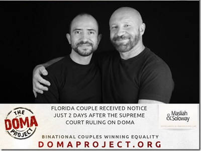Florida Couple Becomes First Gay Married Pair Granted Greencard