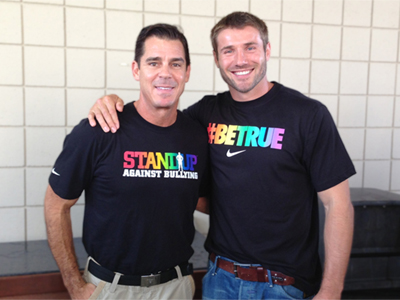 Ben Cohen and Billy Bean 'StandUp' at San Francisco Pride
