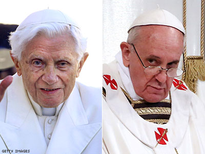 Popes Francis, Benedict Jointly Condemn Same-Sex Marriage
