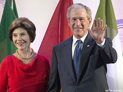 WATCH: What Did George W. Bush Just Say About Gays?