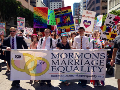 Op-ed: How Mormons Evolved From Prop 8 to Pride
