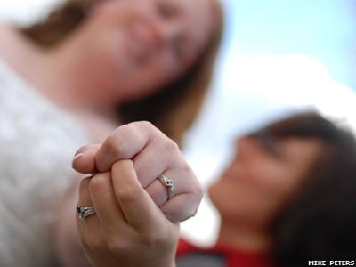 Op-ed: Our Big Gay Wedding