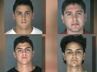 Four Arrested For Antigay Attack on Long Island