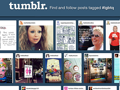 Tumblr Blocks 'Gay' Search on Mobile Apps