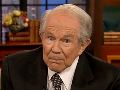 WATCH: Pat Robertson Says Being Transgender Is Not a Sin