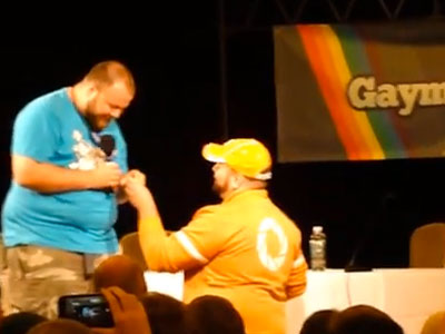 WATCH: Geeky, Adorable Gay Marriage Proposal at GaymerX Convention