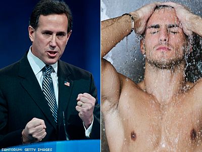 Rick Santorum on Liberals And Gym Showers
