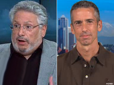 WATCH: Harvey Fierstein, Dan Savage Equate Russia to 1933 Nazi Germany