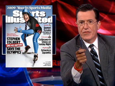 Stephen Colbert to Olympians: Cool It on Gay Stuff