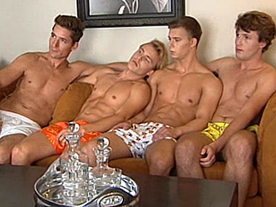 WATCH: Hot Models in Boxers Protest Russia's Antigay Laws