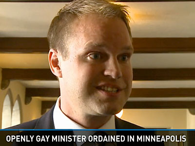 WATCH: Minnesota Presbyterians Ordain First Openly Gay Minister