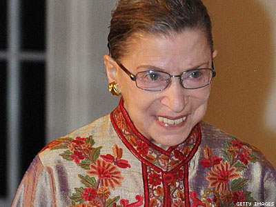 Ginsburg to Be First High Court Justice Performing Same-Sex Marriage