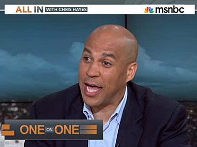 Booker Queried on Gay Rumors: Is the Personal Political?