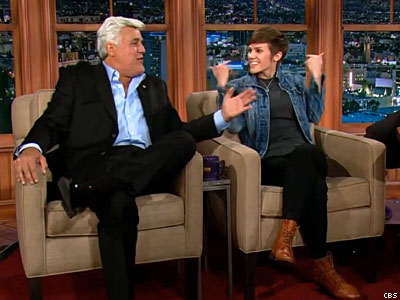 Jay Leno to Lesbian Comedian: 'You're the Future'