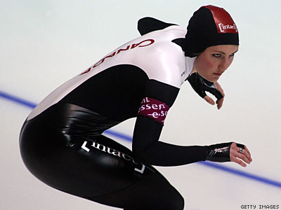 Speed Skater Anastasia Bucsis Is 'Proud to Be Gay'
