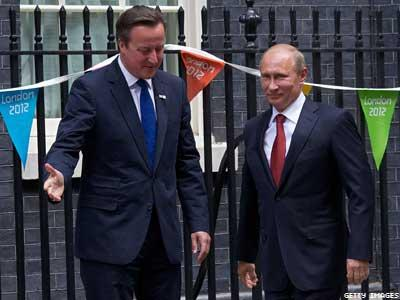 G20: David Cameron Plans to Confront Putin Over Antigay Policies