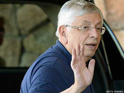 Who Wants David Stern to 'Shh' on Olympics?