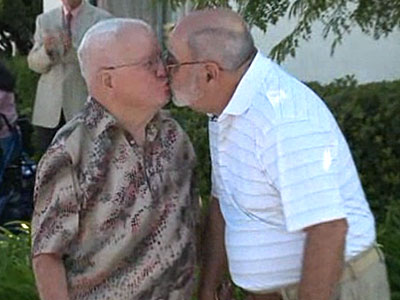 WATCH: Gay Veterans Marry at Calif. Senior Home