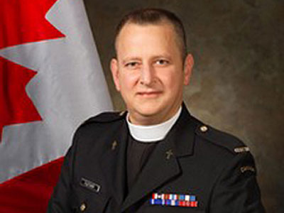 Gay Man Named Head Chaplain of Canadian Military
