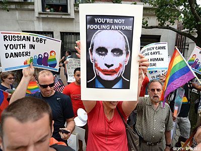 Poll: Nearly 70% of Americans Oppose Russia's Anti-LGBT Laws