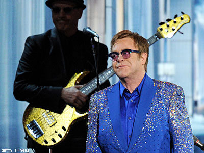 Russian Groups Want Elton John Banned