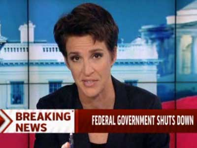 Rachel Maddow: 'Elect Republicans and They Will Burn the Place Down'