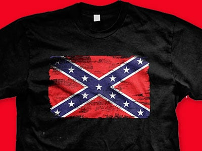 High School Students Suspended for Wearing Confederate Flags