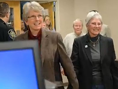 WATCH: Asheville, N.C. Register Accepts Marriage Applications from 10 Same-Sex Couples