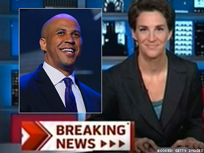 Maddow to New N.J. Sen. Booker: 'Fun Times Await You'