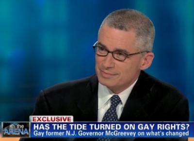 McGreevey Amazed by New Jersey Marriage Decision