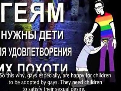 Russia Won't Take Kids of Gays Away Just Yet