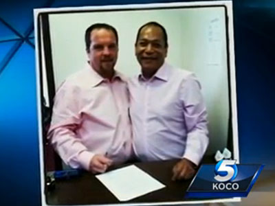Gay Okla. Couple Legally Married by Native American Tribe