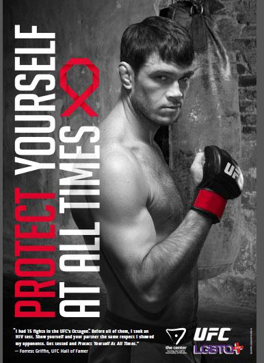 UFC Joins LGBT Organization For New HIV Awareness Campaign