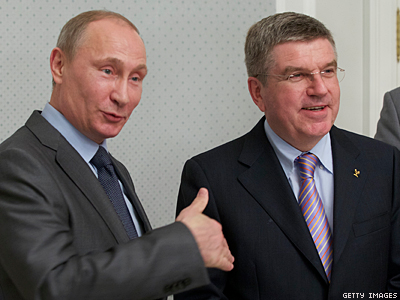 IOC President Won't Meet With LGBT Activists in Russia