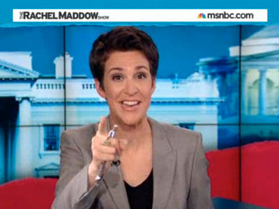 WATCH: Maddow Catches Va. Candidate in Lies About Antigay Statements