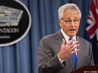 Hagel: Denying Military IDs to Gay National Guard Spouses is Wrong