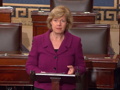 WATCH: First Openly Gay Sen. Tammy Baldwin on 'Courage' of Those Supporting ENDA