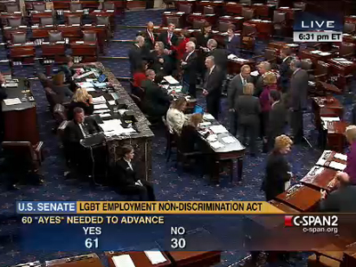 Senate Passes ENDA on Procedural Vote