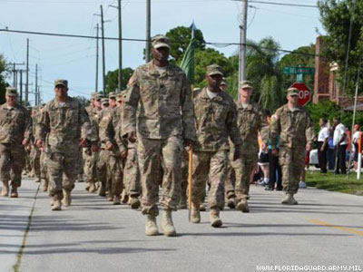 Full Benefits for Married Same-Sex Couples Granted by Florida National Guard