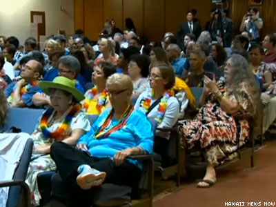 Hawaii Conservatives Attempt 'Citizen's Filibuster' on Marriage Equality