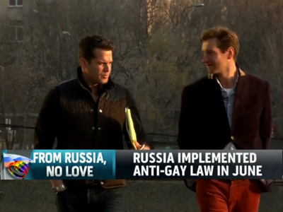 WATCH: Fired Gay Russian Journo Tells Thomas Roberts 'It's Time to Be Open'
