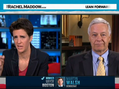 WATCH: Mike Michaud Says He Doesn't Know Who Is Targeting Him