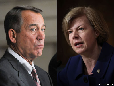 WATCH: Tammy Baldwin Tells John Boehner 'Just Bring ENDA Up for a Vote'