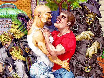 IMAGES: Head to Bent-Con for the Geekiest Gay Art