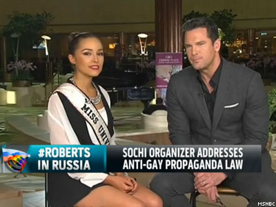 WATCH: Thomas Roberts Hasn't Personally Experienced Russian Homophobia
