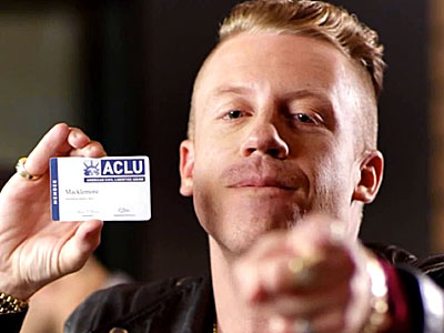 WATCH: Macklemore Comes Out as an ACLU Supporter