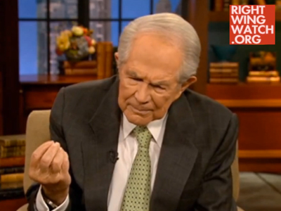WATCH: Pat Robertson Says Find Out if Gay Son's Been Molested