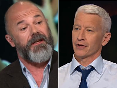 WATCH: Anderson Cooper Doesn't Buy Alec Baldwin's Ignorance