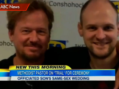 WATCH: Pastor Suspended for Same-Sex Wedding Says He'll Perform More